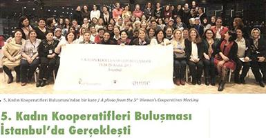 5.Kadın Kooperatifleri Buluşması İstanbul'da gerçekleşti