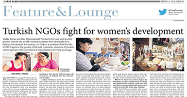 Turkish NGOs fight for women's development